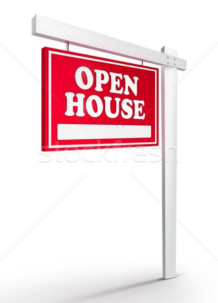 Real Estate Sign - For Lease  Stock photo © RAStudio