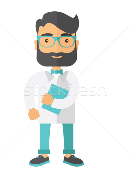 Young attractive resident doctor Stock photo © RAStudio