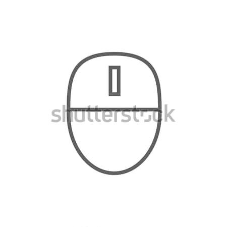 Computer mouse line icon. Stock photo © RAStudio