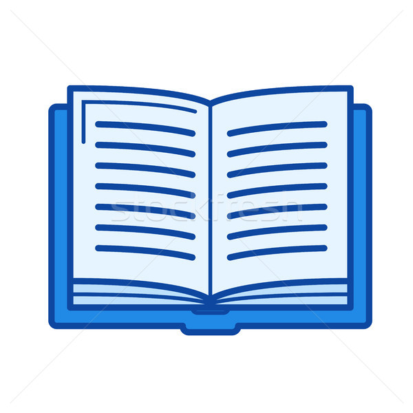 Student book line icon. Stock photo © RAStudio