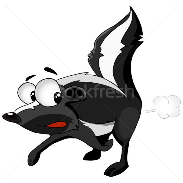 Cartoon Character Skunk Stock photo © RAStudio