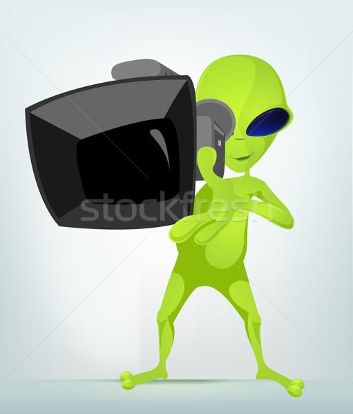 Funny Alien Stock photo © RAStudio