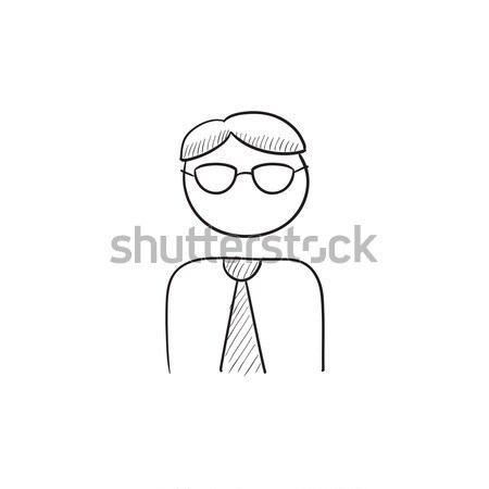 Conductor sketch icon. Stock photo © RAStudio
