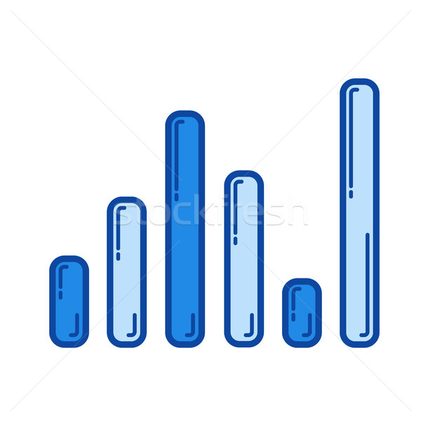 Sound level line icon. Stock photo © RAStudio