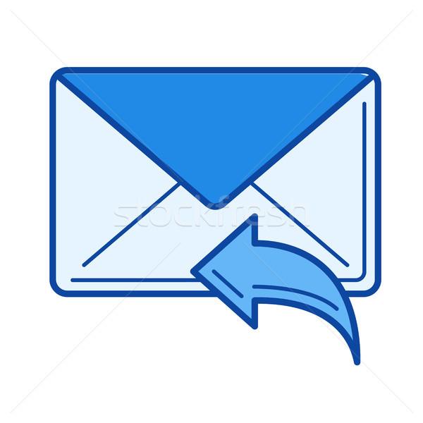 Reply line icon. Stock photo © RAStudio