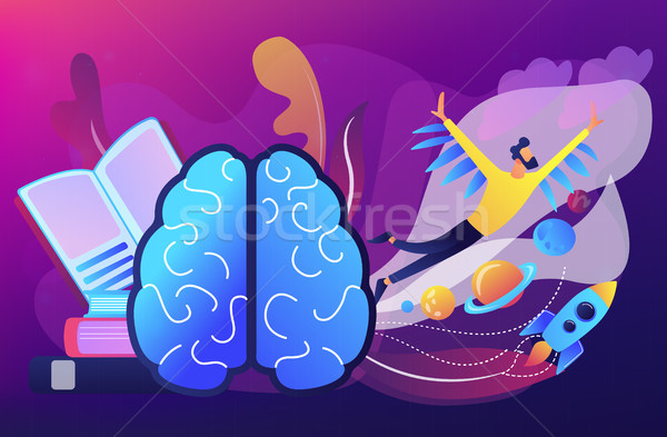 Imagination concept vector illustration. Stock photo © RAStudio