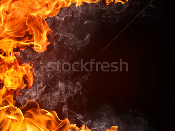Fire Background Stock photo © RAStudio