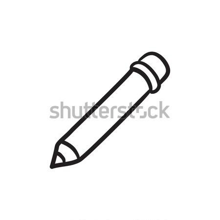 Edit sketch icon. Stock photo © RAStudio