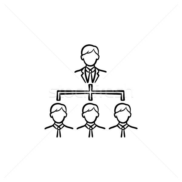商務會議 手工繪製 素描 圖標 塗鴉 商業照片 © RAStudio