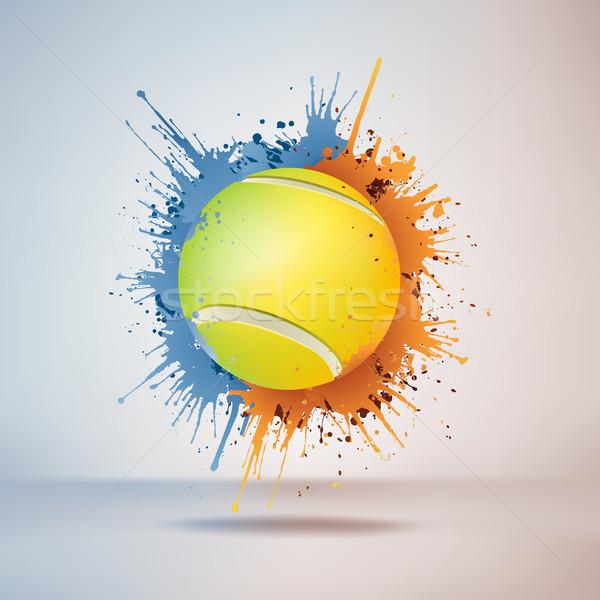 Tennis Ball Stock photo © RAStudio