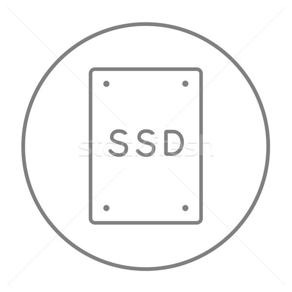 Stock fotó: Szilárd · vezetés · vonal · ikon · háló · mobil