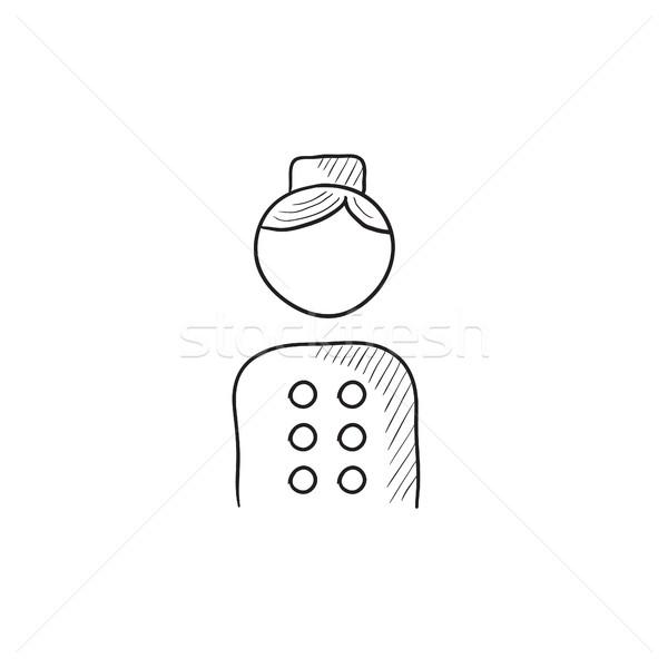 Bellboy sketch icon. Stock photo © RAStudio