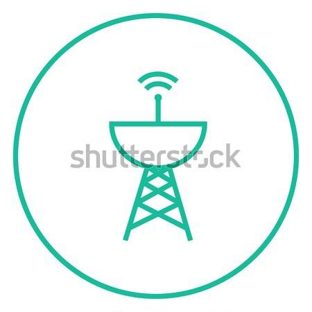 レーダー 行 アイコン ウェブ 携帯 ストックフォト © RAStudio