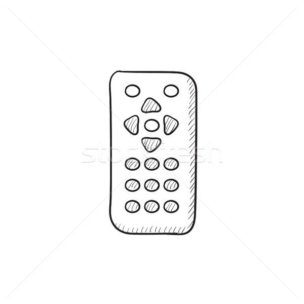 Remote control sketch icon. Stock photo © RAStudio