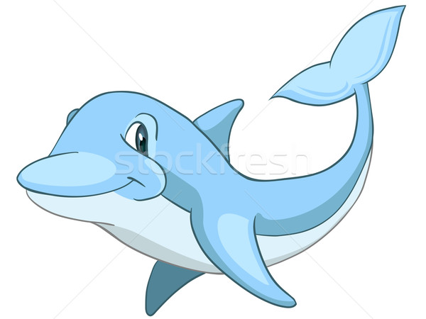 Cartoon Character Dolphin Stock photo © RAStudio