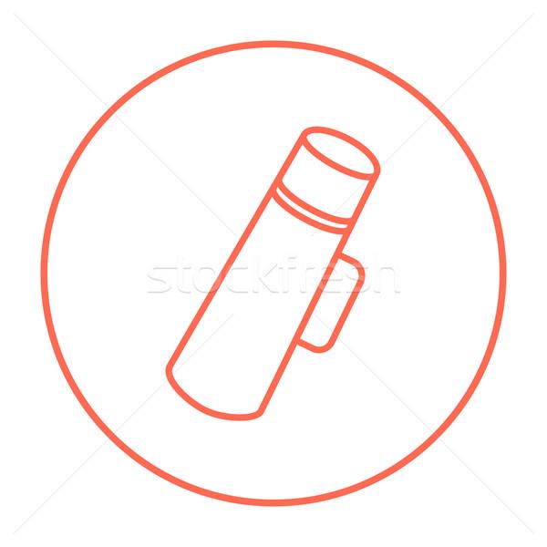Thermos line icon. Stock photo © RAStudio