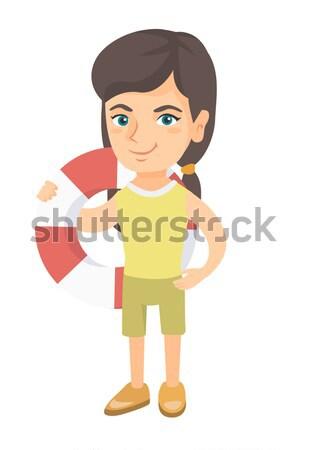 女性 配信 ポスト パッケージ 白人 送信 ストックフォト © RAStudio