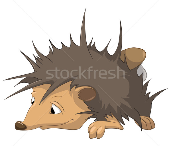 Cartoon Character Hedgehog Stock photo © RAStudio