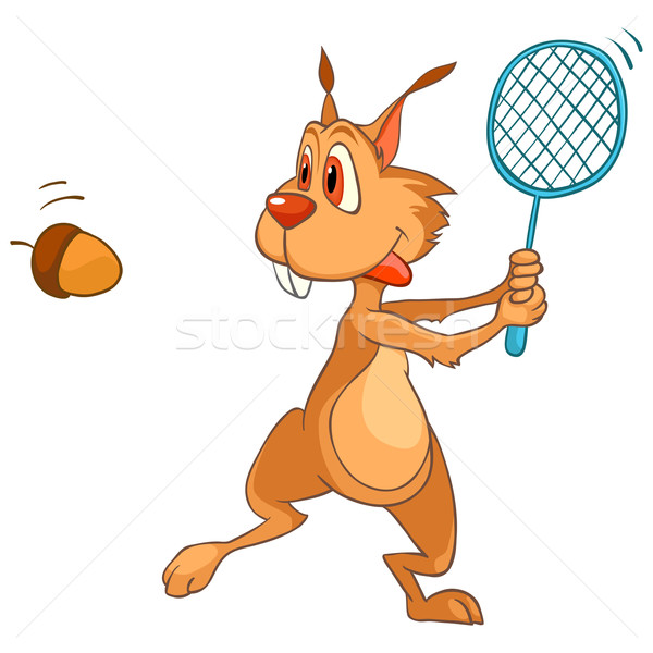 Cartoon Character Squirrel Stock photo © RAStudio