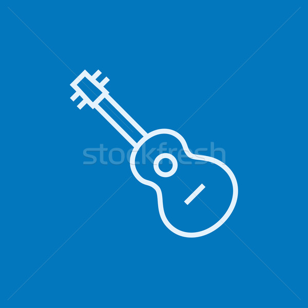 Guitar line icon. Stock photo © RAStudio