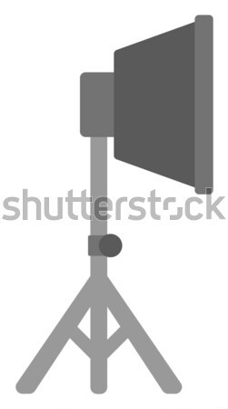 Foto estúdio equipamentos de iluminação vetor projeto ilustração Foto stock © RAStudio