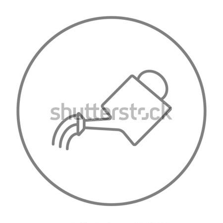 Watering can line icon. Stock photo © RAStudio