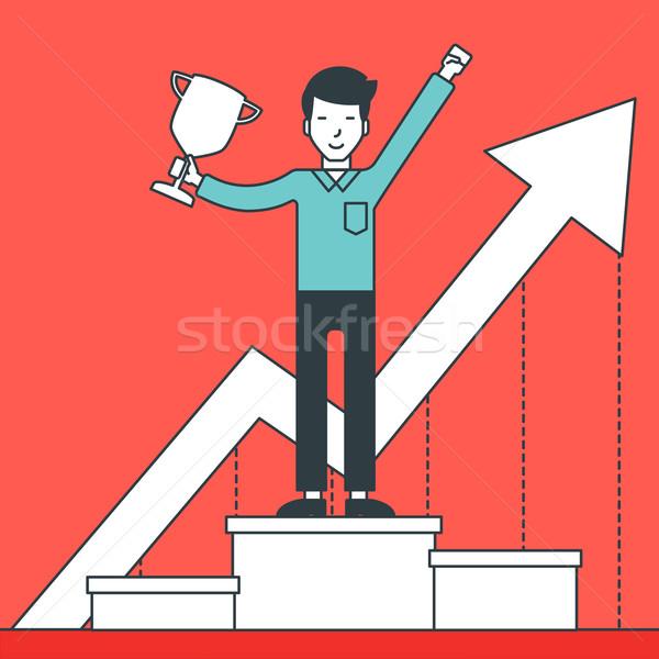Successful development of business. Stock photo © RAStudio