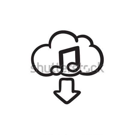 Download music sketch icon. Stock photo © RAStudio