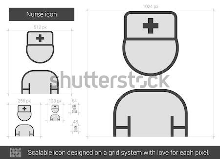 Doctor line icon. Stock photo © RAStudio