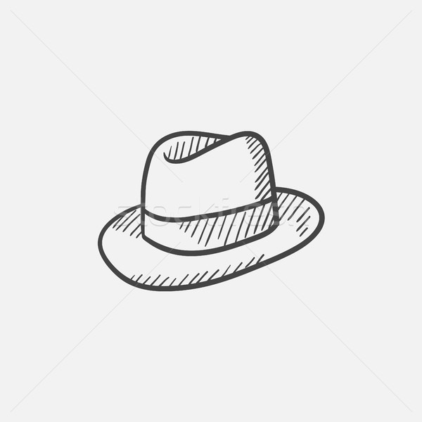 Hat sketch icon. Stock photo © RAStudio