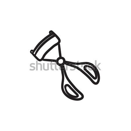 Helicopter sketch icon. Stock photo © RAStudio