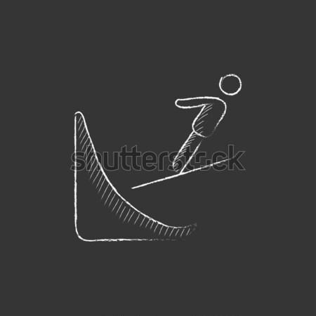 Golfer sketch icon Stock photo © RAStudio