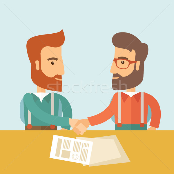 Business Meeting Stock photo © RAStudio