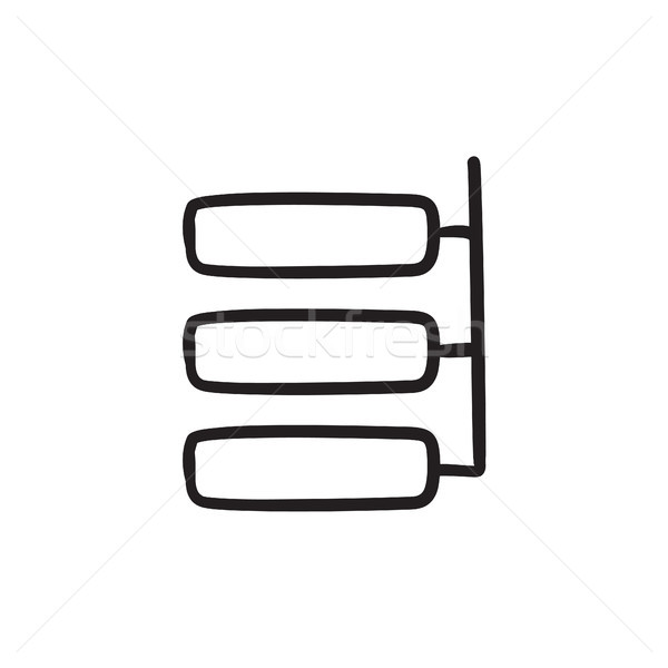 System parts sketch icon. Stock photo © RAStudio