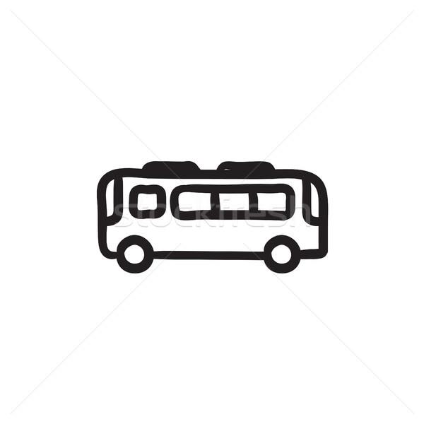 Bus sketch icon. Stock photo © RAStudio