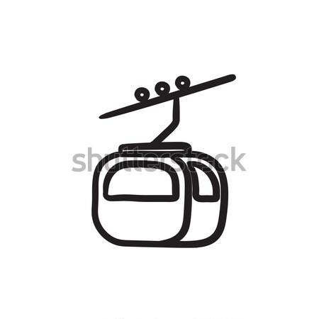 Funicular line icon. Stock photo © RAStudio