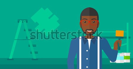 Adam kelepçe suç işadamı kelepçe para Stok fotoğraf © RAStudio