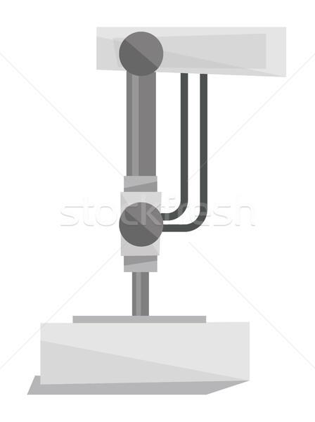 Industrial imprensa máquina vetor projeto ilustração Foto stock © RAStudio