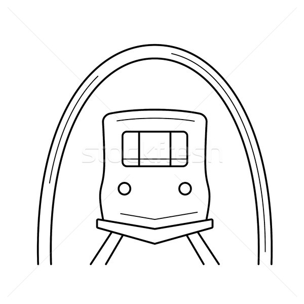 Subway line icon. Stock photo © RAStudio