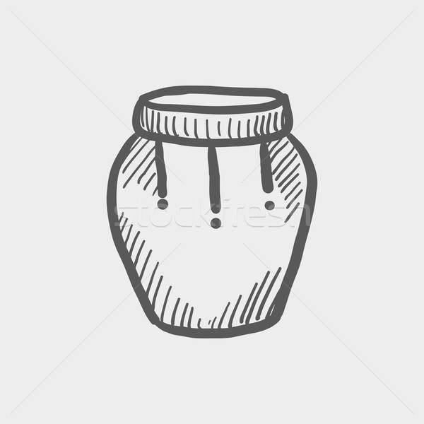 Percussion instrument sketch icon Stock photo © RAStudio