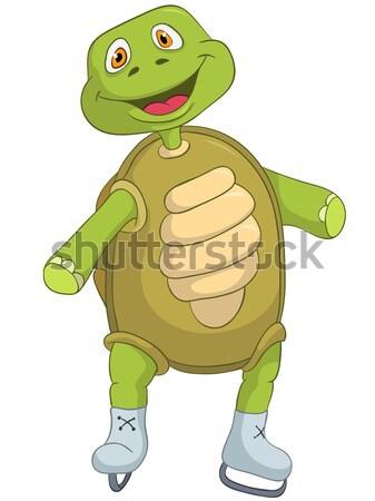 Funny Turtle. Stop. Stock photo © RAStudio