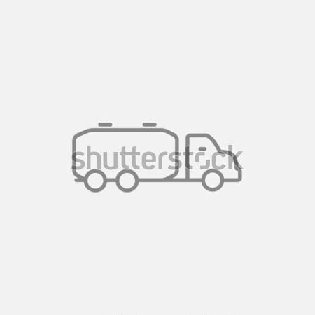 Сток-фото: грузовика · жидкость · груза · линия · икона · веб