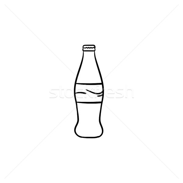 Soft drink hand drawn sketch icon. Stock photo © RAStudio