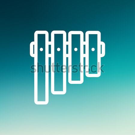 Vibraphone line icon. Stock photo © RAStudio