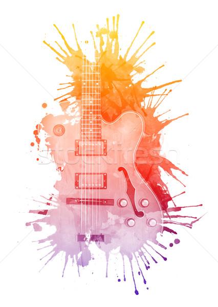 Electric Guitar Stock photo © RAStudio