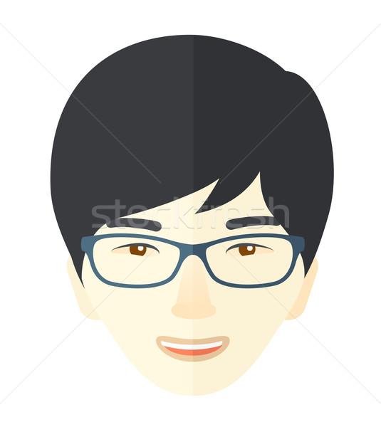 Joyful japanese boy. Stock photo © RAStudio