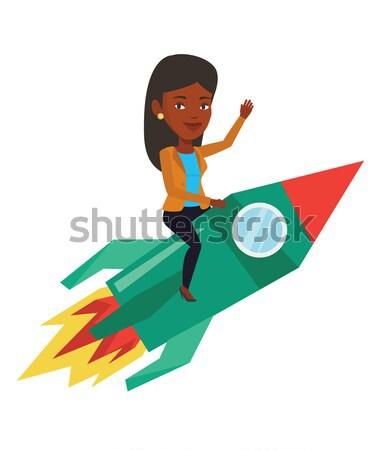 Business start up vector illustration. Stock photo © RAStudio