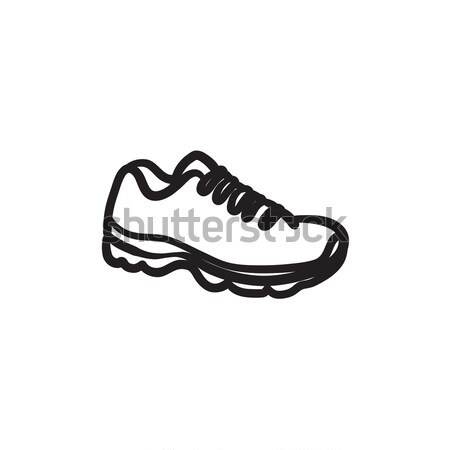 Sneaker sketch icon. Stock photo © RAStudio