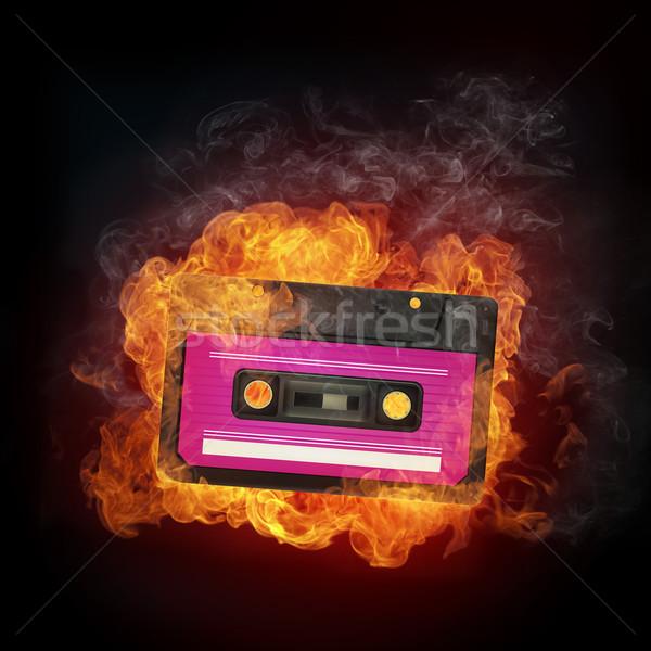 Audio Cassette Stock photo © RAStudio