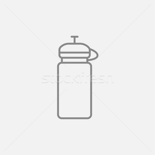 Sport water bottle line icon. Stock photo © RAStudio